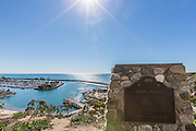 Dana Point Harbor View from Sampson Overlook