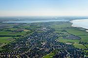 Nederland, Friesland, Gemeente Hollands Kroon, 07-05-2018; voormalig eiland Wieringen. Hippolytushoef, hoofdplaats van de voormalige gemeente Wieringen.<br /> Former island of Wieringen, main village.<br /> <br /> luchtfoto (toeslag op standaard tarieven);<br /> aerial photo (additional fee required);<br /> copyright foto/photo Siebe Swart