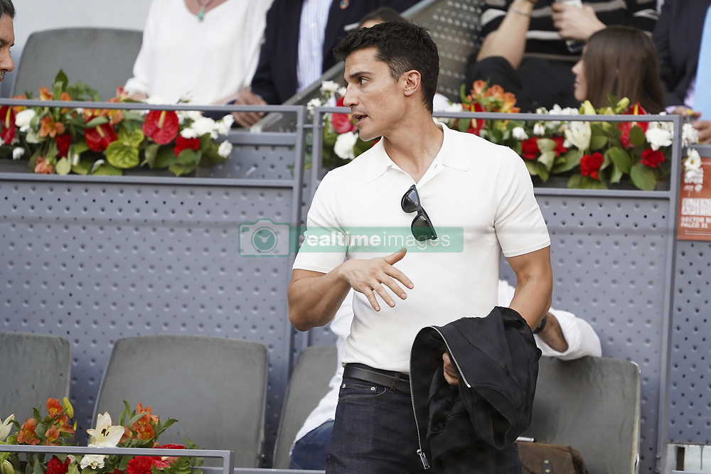 May 12, 2019 - Madrid, Spain - lex González attend the men's final during day 9 of the Mutua Madrid Open at La Caja Magica on May 12, 2019 in Madrid, Spain. (Credit Image: © Oscar Gonzalez/NurPhoto via ZUMA Press)