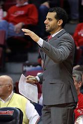 26 November 2016:  Dean Oliver, Assistant Coach during an NCAA  mens basketball game between the IUPUI Jaguars the Illinois State Redbirds in a non-conference game at Redbird Arena, Normal IL