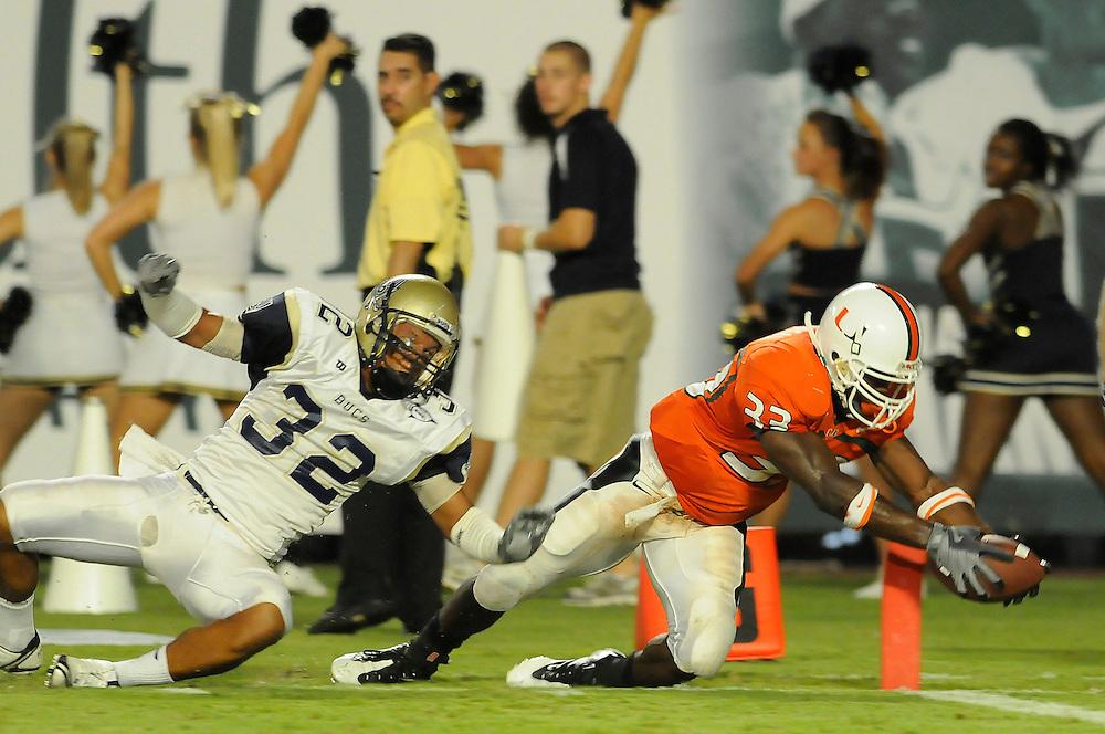 2008 Miami Hurricanes Football vs Charleston Southern