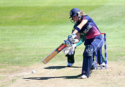 Lauren Winfield of England plays an attacking shot - Mandatory by-line: Robbie Stephenson/JMP - 05/07/2017 - CRICKET - County Ground - Bristol, United Kingdom - England Women v South Africa Women - ICC Women's World Cup Group Stage