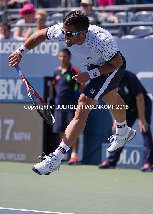 JANKO TIPSAREVIC (SRB)<br /> <br /> Tennis - US Open 2016 - Grand Slam ITF / ATP / WTA -  USTA Billie Jean King National Tennis Center - New York - New York - USA  - 30 August 2016.
