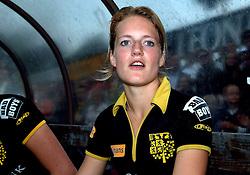 20-05-2007 HOCKEY: FINALE PLAY OFF: DEN BOSCH - AMSTERDAM: DEN BOSCH <br /> Den Bosch voor de tiende keer op rij kampioen van de Rabo Hoofdklasse Dames. In de beslissende finale versloegen zij Amsterdam met 2-0 / Carlien Dirkse van de Heuvel<br /> ©2007-WWW.FOTOHOOGENDOORN.NL