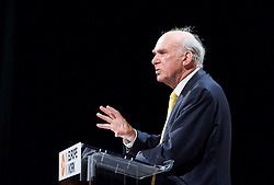 Secretary of State for Business Vince Cable speaks at the  Liberal Democrats Spring Conference in York, Friday, 7th March 2014. Picture by Elliot Franks / i-Images