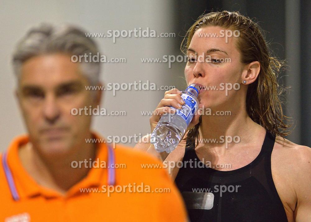 04-04-2015 NED: Swim Cup, Eindhoven<br /> Femke Heemskerk, 100 m freestyle<br /> Photo by Ronald Hoogendoorn / Sportida