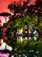 &ldquo;Panoramic sunset reflections of Villa Borghese &ndash; Rome&rdquo;&hellip;<br />