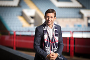 Dundee manager Neil McCann - Neil McCann press conference at Dens Park, Dundee, Photo: David Young<br /> <br />  - &copy; David Young - www.davidyoungphoto.co.uk - email: davidyoungphoto@gmail.com
