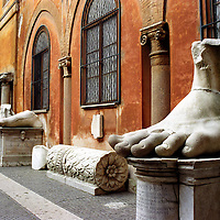 Constantine's Foot, Rome, Italy