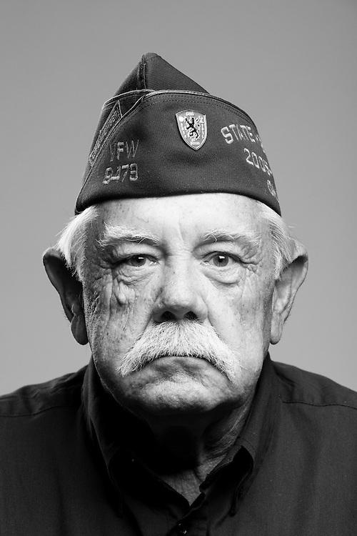 Francis LeRoy Clendenen<br /> Army<br /> Spec. 5<br /> Combat Photographer<br /> Nov. 1967 - Nov. 1969<br /> Vietnam<br /> <br /> Veterans Portrait Project<br /> St. Louis, MO