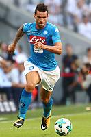 Christian Maggio Napoli<br /> Monaco 02-08-2017  Stadio Allianz Arena<br /> Football Audi Cup 2017 <br /> Bayern Monaco - Napoli<br /> Foto Cesare Purini / Insidefoto