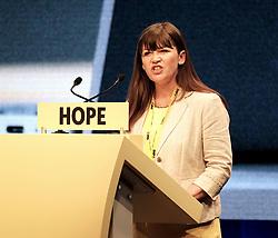 SNP Spring Conference, Sunday 28th April 2019<br /> <br /> Pictured: Clare Haughey MSP<br /> <br /> Alex Todd | Edinburgh Elite media