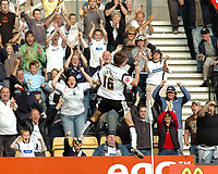 Photo: Kevin Poolman.<br />Derby County v Southend United. Coca Cola Championship. 30/09/2006. Derby's Arturo Lupoli celebrates his second goal.