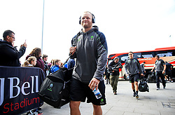 Kurt Haupt of Worcester Warriors arrives at the AJ Bell Stadium - Mandatory by-line: Matt McNulty/JMP - 24/03/2018 - RUGBY - AJ Bell Stadium - Manchester, England - Sale Sharks v Worcester Warriors - Aviva Premiership