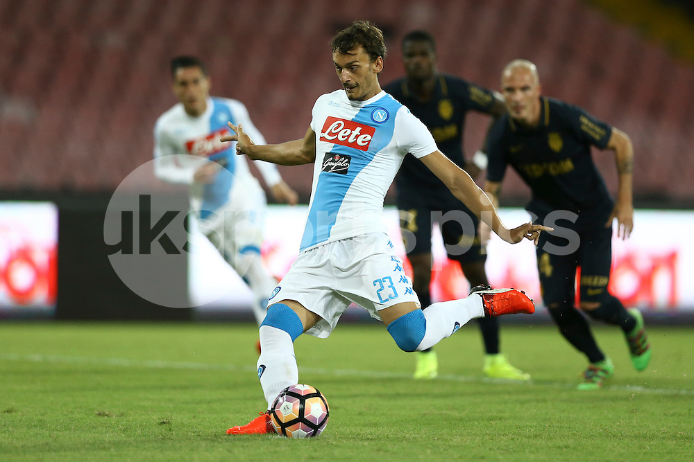 Manolo Gabbiadini of Napoli .Photo by Matteo Ciambelli/Daimages.