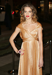 February 18, 2019 - London, United Kingdom - Natalia Vodianova attends the Fabulous Fund Fair as part of London Fashion Week event. (Credit Image: © Brett Cove/SOPA Images via ZUMA Wire)