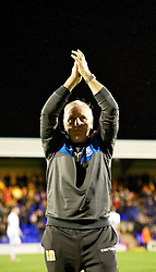 BIRKENHEAD, ENGLAND - Tuesday, March 6, 2012: Tranmere Rovers' new manager Ronnie Moore before the Football League One match against Notts County at Prenton Park. (Pic by David Rawcliffe/Propaganda)