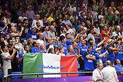 tifosi<br /> Nazionale Italiana Maschile Senior<br /> Eurobasket 2017 - Group Phase<br /> Lituania Italia Lithuania Italy<br /> FIP 2017<br /> Tel Aviv, 03/09/2017<br /> Foto M.Ceretti / Ciamillo - Castoria