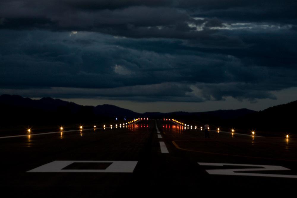 Manhuacu_MG, Brasil...Reforma e ampliacao do aeroporto de Manhuacu...The expansion works in Manhuacu airport...Foto: BRUNO MAGALHAES / NITRO