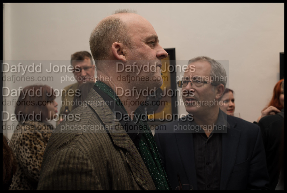 TIM MCENEMY; BEN ELTON, Private view, Paul Simonon- Wot no Bike, ICA Nash and Brandon Rooms, London. 20 January 2015