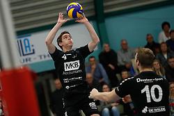 20181124 NED: Volleyball Top League ZVH - VCV: Zevenhuizen<br />Sven Vermeulen (4) of MKB Accountants VCV <br />©2018-FotoHoogendoorn.nl / Pim Waslander
