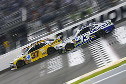 September 22, 2018 - Richmond, Virginia, United States of America - Ty Dillon (13) battles for position during the Federated Auto Parts 400 at Richmond Raceway in Richmond, Virginia. (Credit Image: © Chris Owens Asp Inc/ASP via ZUMA Wire)