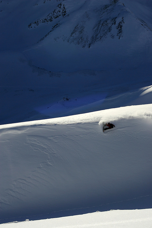 Rider: Xavier Jordan.Location: Vallorcine (French)