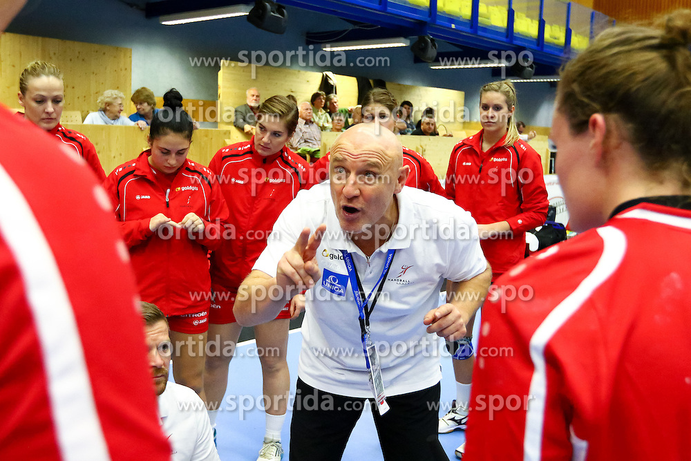11.10.2015, BSFZ Südstadt, Maria Enzersdorf, AUT, EHF Euro 2016 der Frauen, Österreich vs Niederlande, Qualifikation, im Bild Herbert Müller (Trainer AUT)// during Women's EHF Euro 2016 qualifier match between Austria and the Netherlands at the BSFZ Südstadt, Maria Enzersdorf, Austria on 2015/10/11, EXPA Pictures © 2015, PhotoCredit: EXPA/ Sebastian Pucher