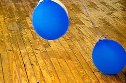 Design image blue ballons