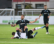 Kostadin Gadzhalov takes a seat - Dundee v St Johnstone - SPFL development league <br /> <br />  - &copy; David Young - www.davidyoungphoto.co.uk - email: davidyoungphoto@gmail.com