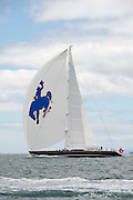 "Janice of Wyoming 39.70m  (130'2""ft) Sailing yacht built by Alloy Yachts and launched in 2005. Designed by Dubois Naval Architects."