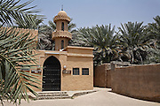 A mosque in Al Ain Palm Gardens, United Arab Emirates