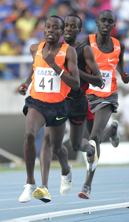 (Rio de Janeiro --- May 23, 2010) David Kiprotich Bett (  KEN) competes in the 5000m at the 26th annual Grande Prêmio Internacional do Brasil Caixa de Atletismo (Brazil World Athletics Challenge International Grand Prix) at the João Havelange Olympic Stadium in Rio de Janeiro, Brazil.