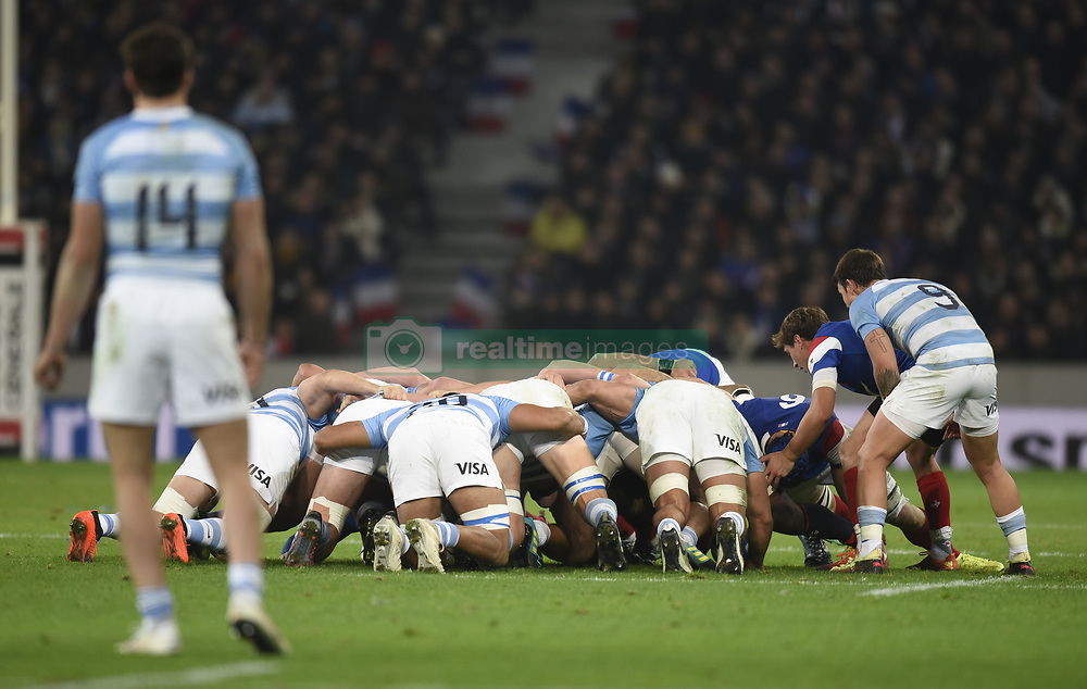 RUGBY : France vs Argentine - Test match - Lille - 17/11