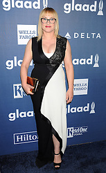 Patricia Arquette, 27th Annual GLAAD Media Awards, at The Beverly Hilton Hotel, April 2, 2016 - Beverly Hills, California. EXPA Pictures © 2016, PhotoCredit: EXPA/ Photoshot/ Celebrity Photo<br /> <br /> *****ATTENTION - for AUT, SLO, CRO, SRB, BIH, MAZ, SUI only*****