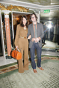 Jarvis Cocker and his wife Camille Bidault-Waddington, Beyond Belief-Damien Hirst. White Cube Hoxton and Mason's Yard.Party  afterwards at the Dorchester. Park Lane. 2 June 2007.  -DO NOT ARCHIVE-© Copyright Photograph by Dafydd Jones. 248 Clapham Rd. London SW9 0PZ. Tel 0207 820 0771. www.dafjones.com.