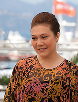 Actress Mastura Ahmad at the Apprentice<br />  film photo call at the 69th Cannes Film Festival Monday 16th May 2016, Cannes, France. Photography: Doreen Kennedy