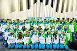 Presentation of Slovenian Young Athletes before departure to EYOF (European Youth Olympic Festival) in Vorarlberg and Liechtenstein, on January 21, 2015 in Bled, Slovenia. Photo by Vid Ponikvar / Sportida