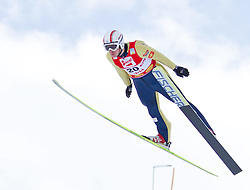 19.12.2011, Casino Arena, Seefeld, AUT, FIS Nordische Kombination, Ski Springen HS 109, im Bild Ales Vodsedalek (CZE) // Ales Vodsedalek of Czech Republic during Ski jumping at FIS Nordic Combined World Cup in Sefeld, Austria on 20111211. EXPA Pictures © 2011, PhotoCredit: EXPA/ P.Rinderer