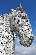 The Kelpies Horses