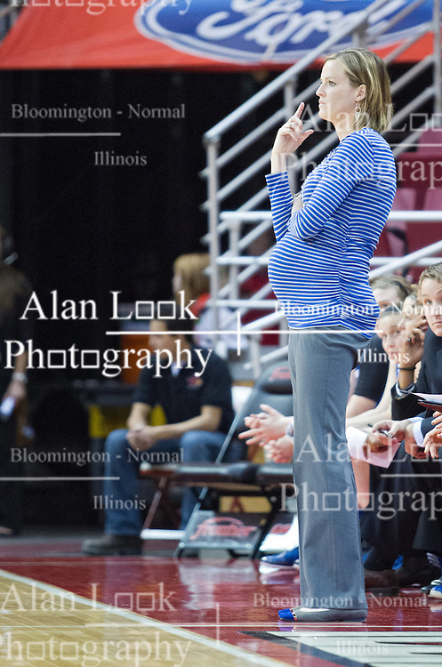 03 January 2014:  Jennie Baranczyk during an NCAA women's basketball game between the Drake Bulldogs and the Illinois Sate Redbirds at Redbird Arena in Normal IL