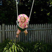 Greta Crying on The Swing, Biddeford Pool, Maine, 2008