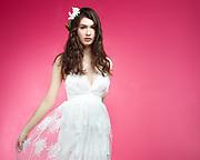 Fashion model Riley Halford by fashion photographer Gerard Harrison