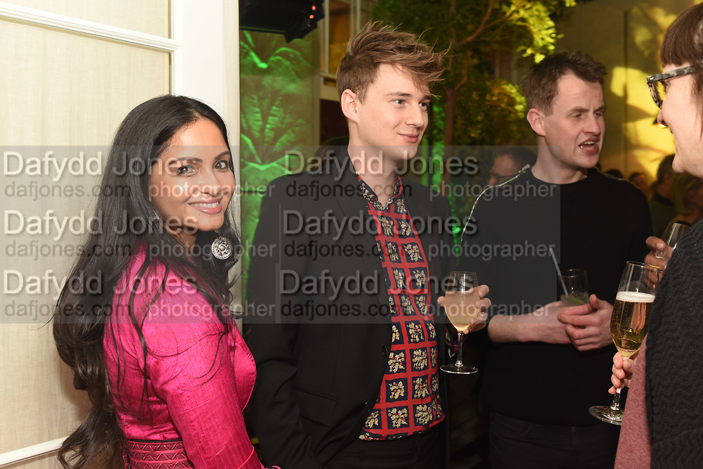 MICHELLE GOMEZ, MAX WALLIS, The Datai Langkawi Relaunch event, Spring, Somerset House,  London. 1 March 2018