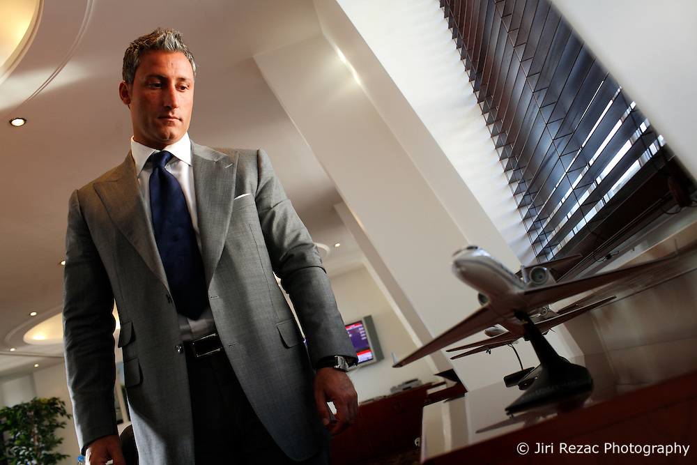 UNITED KINGDOM ENGLAND LONDON 18SEP07 - Group Chairman of the Ability Group, Andreas Panayiotou poses for photos at his company's headquarters in central London...jre/Photo by Jiri Rezac..© Jiri Rezac 2007..Contact: +44 (0) 7050 110 417.Mobile:  +44 (0) 7801 337 683.Office:  +44 (0) 20 8968 9635..Email:   jiri@jirirezac.com.Web:    www.jirirezac.com..© All images Jiri Rezac 2007 - All rights reserved.