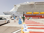 Royal Caribbean, Harmony of the Seas, at the port