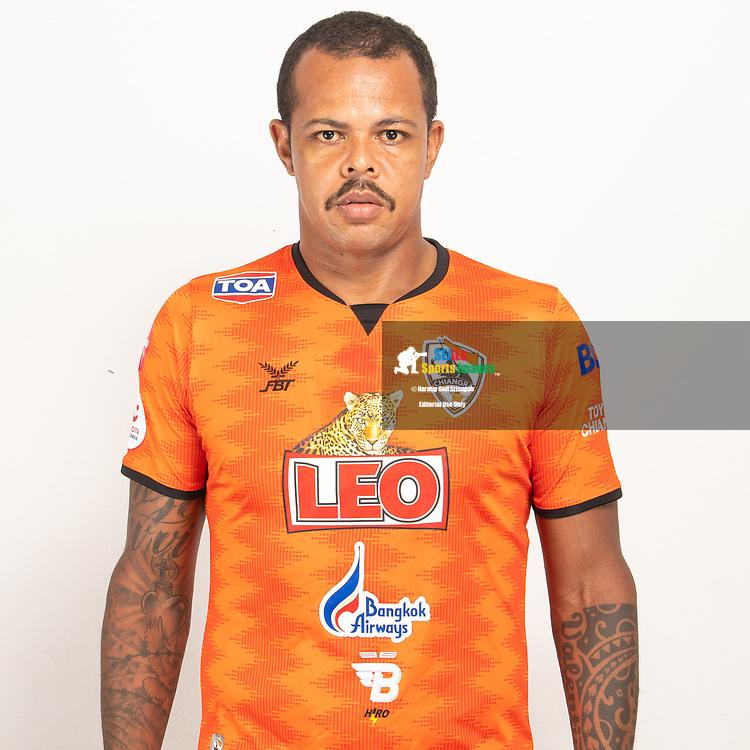 THAILAND - JUNE 04: Bill Amancio #9 of Singha Chiangrai United on June 04, 2019.<br /> .<br /> .<br /> .<br /> (Photo by: Naratip Golf Srisupab/SEALs Sports Images/MB Media Solutions)