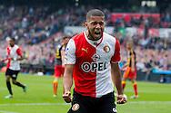 ROTTERDAM, Feyenoord - Go Ahead Eagles, voetbal Eredivisie, seizoen 2013-2014, 30-03-2014, Stadion de Kuip, Feyenoord speler Tonny Vilhena heeft de 2-0 gescoord.