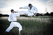 From an outdoor karate session near Luton