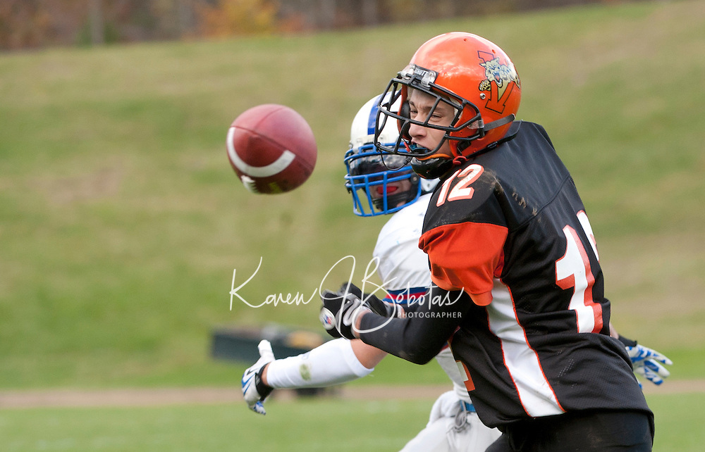 Holderness versus Vermont Academy football  October 16, 2010.